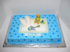 baby shower cakes baby shower sheet cakes boy