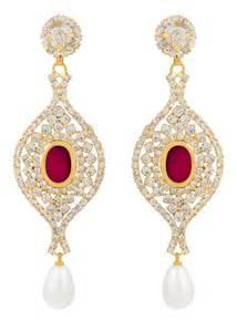 pink chandelier earrings buy changeable ethnic pink chandelier earrings