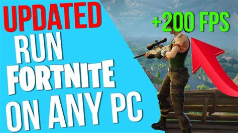 will fortnite run on a laptop updated how to run fortnite on a low end pc and laptop