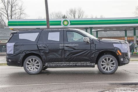 Cadillac For 2020 by 2020 Cadillac Escalade Spied With Makeshift Dodge Ram