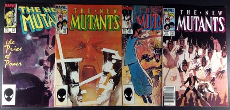 new mutants vol 1 100 c 243 mic the new mutants vol 1 vol 2 y vol 3 1983 2011