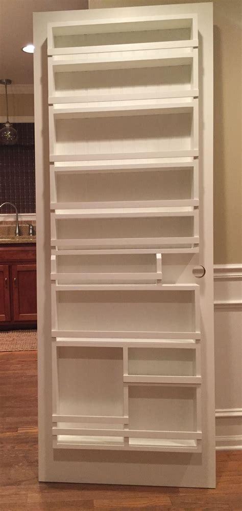 diy pantry door spice rack pantry door storage kitchen