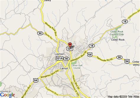 comfort inn lenoir north carolina map of comfort inn lenoir lenoir