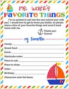 teacher s favorite things