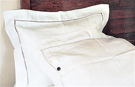 Duvet Cover Size Edinburgh Style Linen Pillow Shams