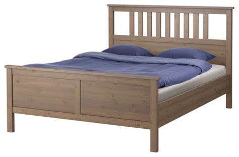 ikea hemnes queen bed ikea hemnes queen bed frame in gray brown