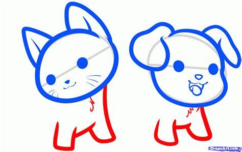 Drawing Kawaii by How To Draw Kawaii Animals Step By Step Anime Animals