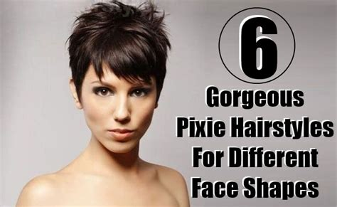 6 Gorgeous Pixie Hairstyles For Different Face Shapes