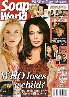 katherine johnson still married 1 14 09 soap world aus hunter tylo katherine kelly lang