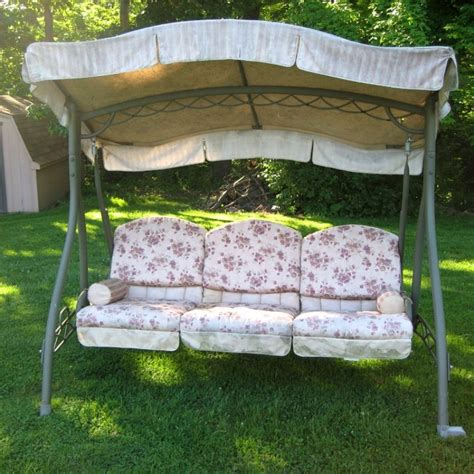 canopy for swing patio swing canopy replacement schwep