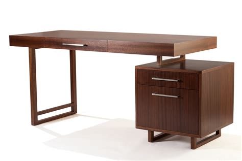 Modern Desk Designs Quot Originally Designed For The Office In A Client S 1950 S Modern Home Simple And
