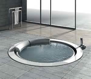baignoire ronde encastrable hafro