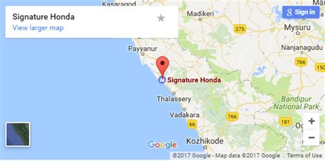 Address Finder In India The Business House Signature Honda Kannur Centrium Kannothumchal Chovvap O Kerala