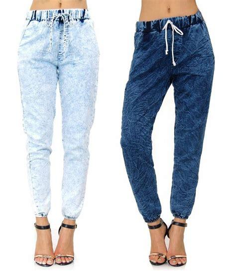 best comfortable jeans for women denim jogger jeans womens oasis amor fashion