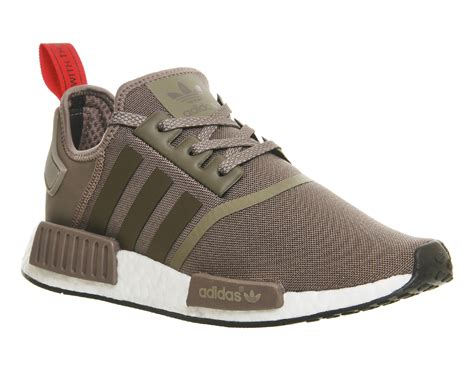 mens adidas nmd runner tech earth white trainers shoes ebay