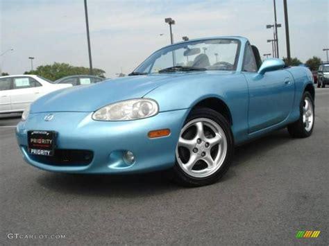 miata colors 2001 blue metallic mazda mx 5 miata roadster