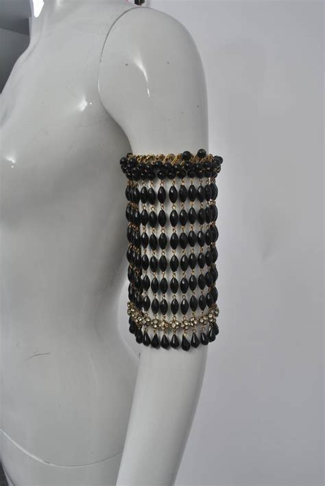 beaded armband beaded arm band image 2