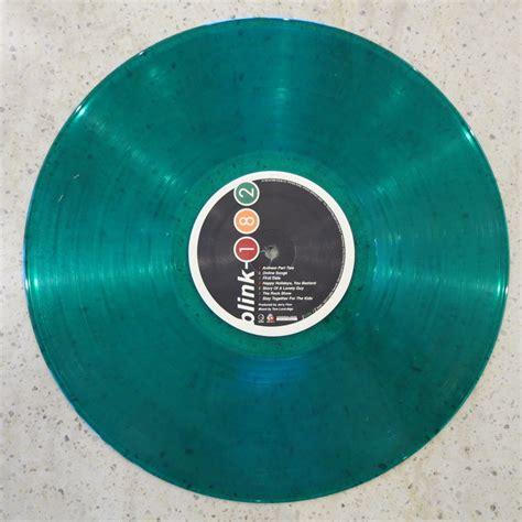 blink 182 vinyl lp blink 182 take your and jacket vinyl lp green