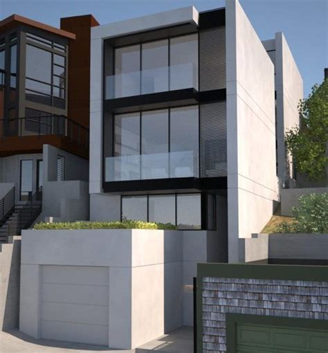 Contemporary Townhouse by Modern Townhouse Architecture Modern Double Level