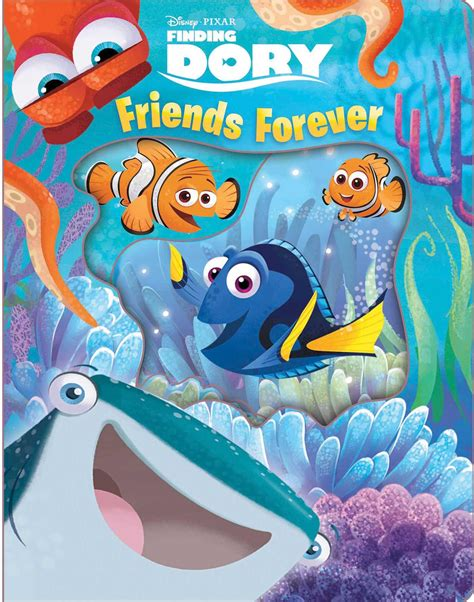 Disney Pixar Finding Dory disney pixar finding dory friends forever book by bill