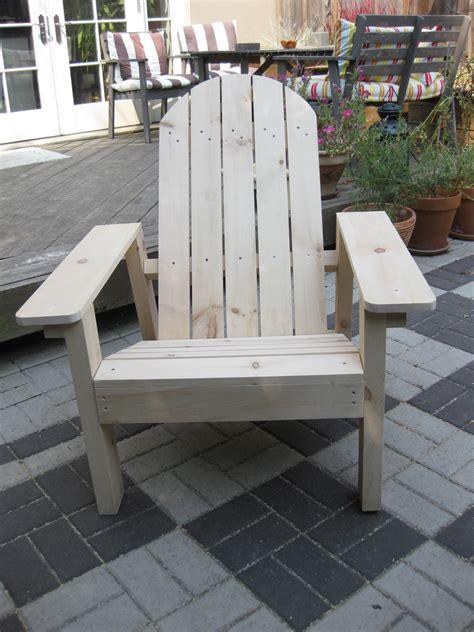 ana white adirondack chair  pine diy projects