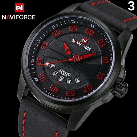 Naviforce Cowok Ori jual anti air jam tangan pria original naviforce leather by hargajam cowok ori anti air
