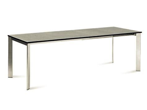 tavolo universe 160 universe 160 metallo tavolo domitalia piano vetro