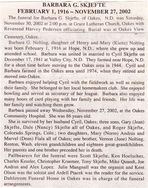 dickey county ndgenweb obituaries