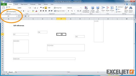 excel tutorial reference excel tutorial what is a cell reference