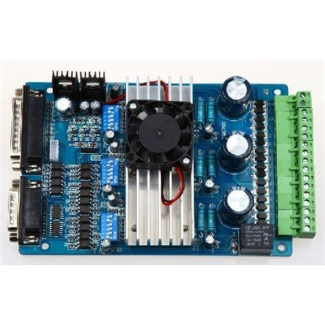 Tb6560 Programming Universal Driving Board Single Axis Controller hobbytronics cnc controller tb6560 3 0a stepper motor driver board for mach3