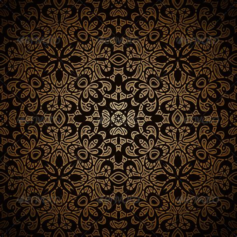 pattern of gold vintage gold pattern by magenta10 graphicriver