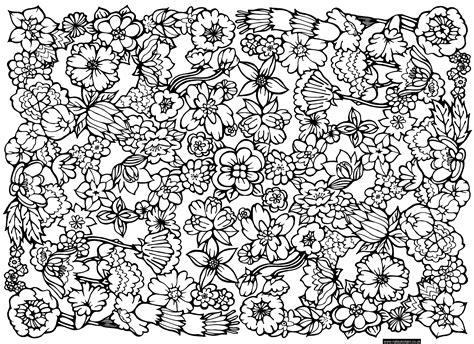 free coloring pages of difficult patterns 14440