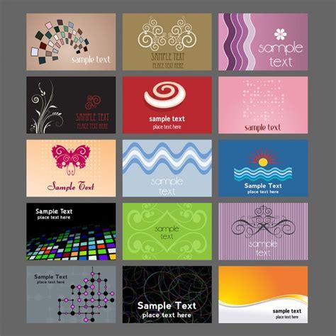 imagenes abstractas para imprimir gratis colecci 243 n de varios dise 241 os para tarjetas de visita