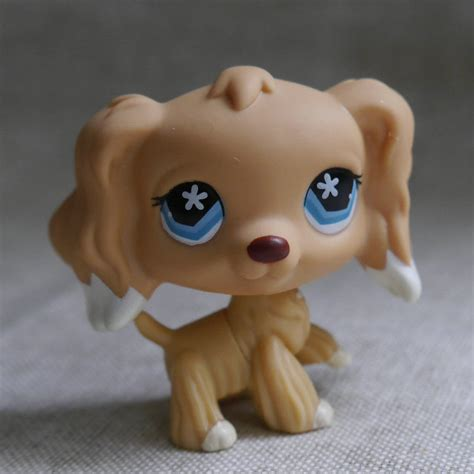 littlest pet shop dogs lps collection littlest pet shop blue cocker 2 quot 12 55 picclick