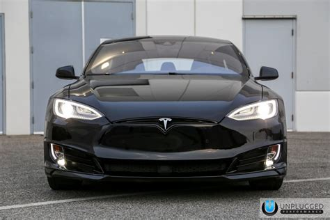 tesla model s front unplugged performance refresh front fascia system for