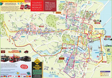 singapore on a map maps update 26001843 singapore tourist attractions map