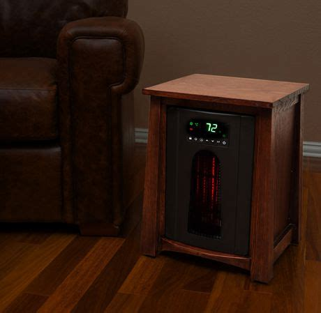 lifesmart 1500w lifelux series deluxe infrared heater