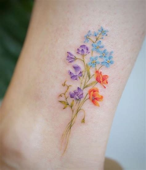 pastel tattoos 25 gorgeous pastel ideas on floral arm