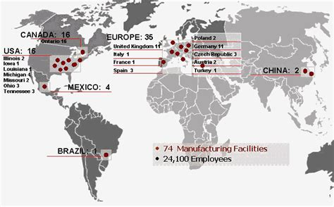 nissan manufacturing plants worldwide our magna kansei limited joint venture in the united
