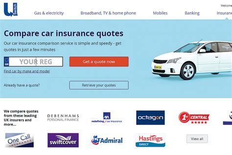 Compare Car Insurance by Best Insurance Comparison Websites 2016 Test