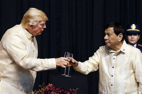 trump duterte roque president trump repeatedly praised president
