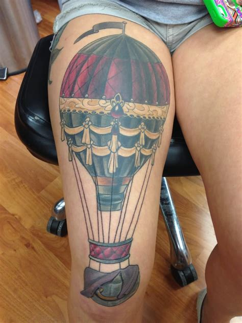 air tattoo balloon tattoos askideas