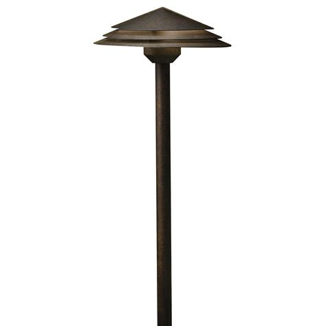 Kichler Path Light Kichler Lighting Aged Bronze Led Path Light 16124agz27 Destination Lighting