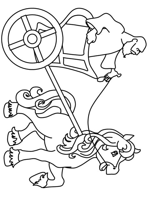 chariot template coloring pictures of chariots coloring pages