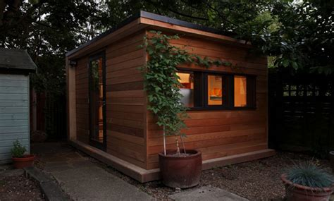 prefab backyard office in it studios prefab garden office spaces let you work
