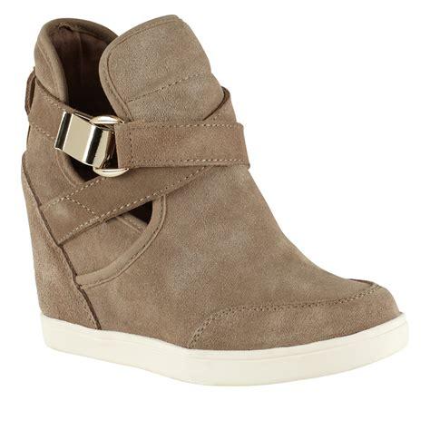 Sale Aldo Black Wedges Ori aldo valaire wedge trainer shoes lyst