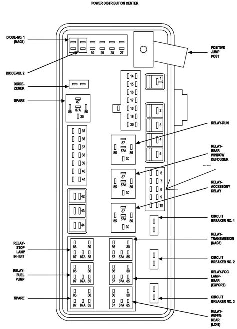 Car Wiring : 2004 Dodge Ram 3500 Fuse Box 2002 1500
