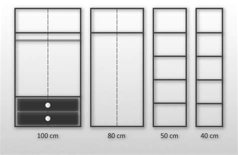 kleiderschrank 80 x 200 kleiderschrank schlafzimmerschrank 80cm x 200cm x 60cm