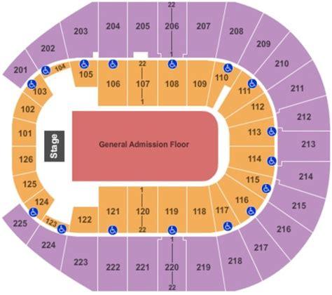 verizon center floor plan verizon arena tickets and verizon arena seating charts