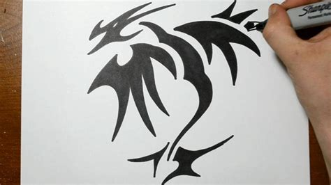 easy to draw tattoo designs easy drawing with markers amazing